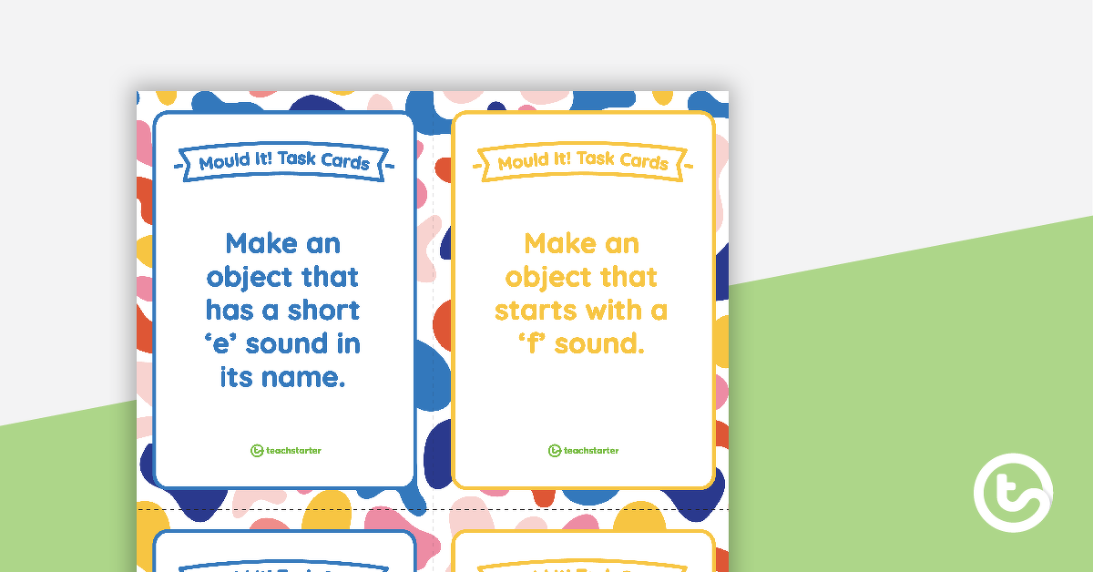 Mould It! Task Cards